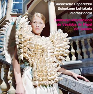 Concurso Internacional de Vestidos de Papel.  Güeñes - Bizkaia (3/3)