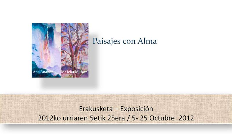Exposición de pintura:  Paisajes con alma (1/4)