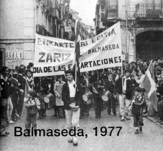 Día de Encartaciones por las calles de Balmaseda