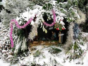 Belén de Kolitza en la Navidad de 2010
