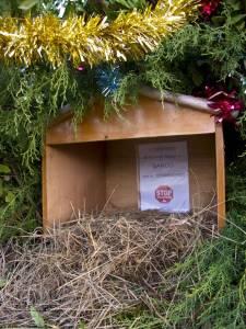 Belén de Kolitza en la Navidad de 2012