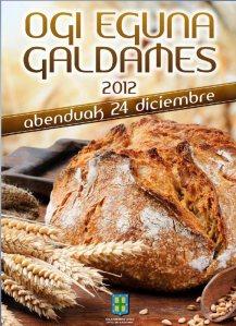 Ogi eguna - Feria del pan       Galdames 2012