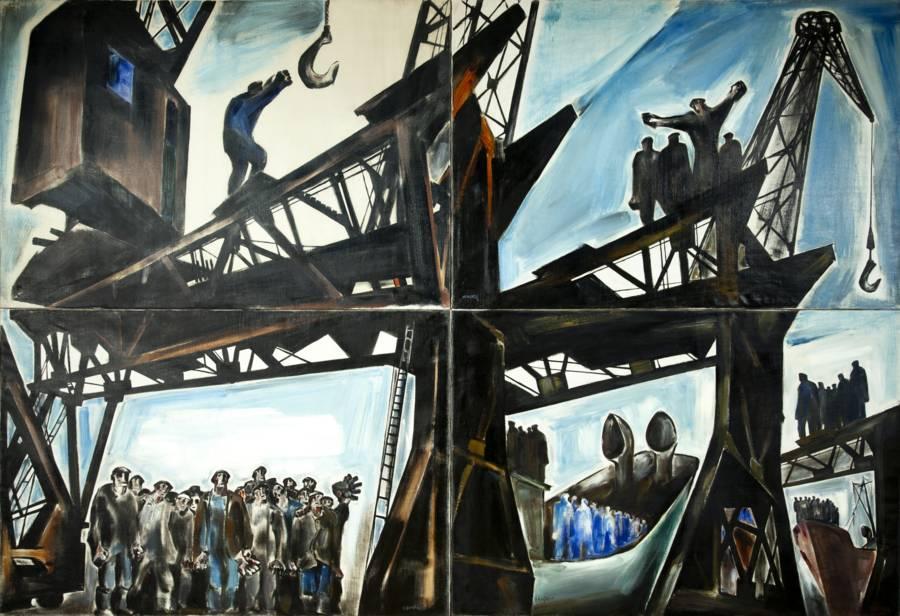 Ismael Fidalgo y los pintores de la postguerra (3/6)