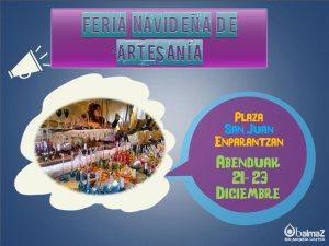 Cartel Feria Artesania Balmaseda