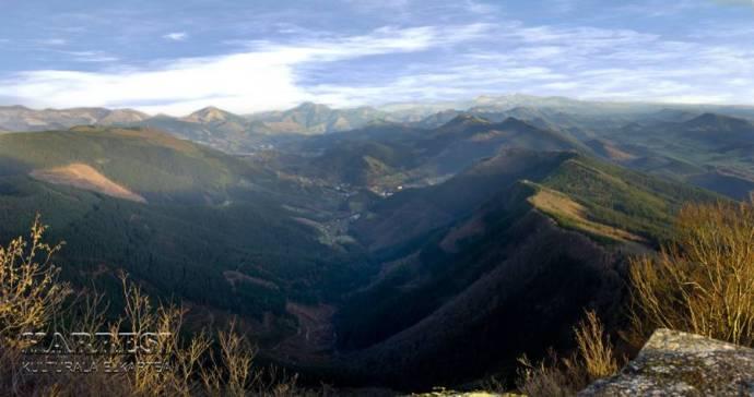 Cuenca del Cadagua desde Kolitza