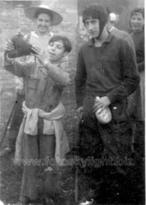 Balmasedanos de romería. Años 40