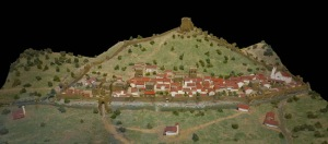 Maqueta de Balmaseda en el Museo de Historia de la Villa
