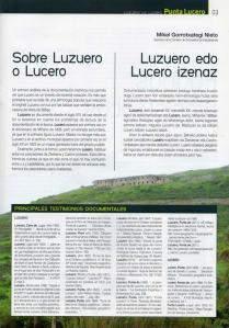 Origen de Lucero