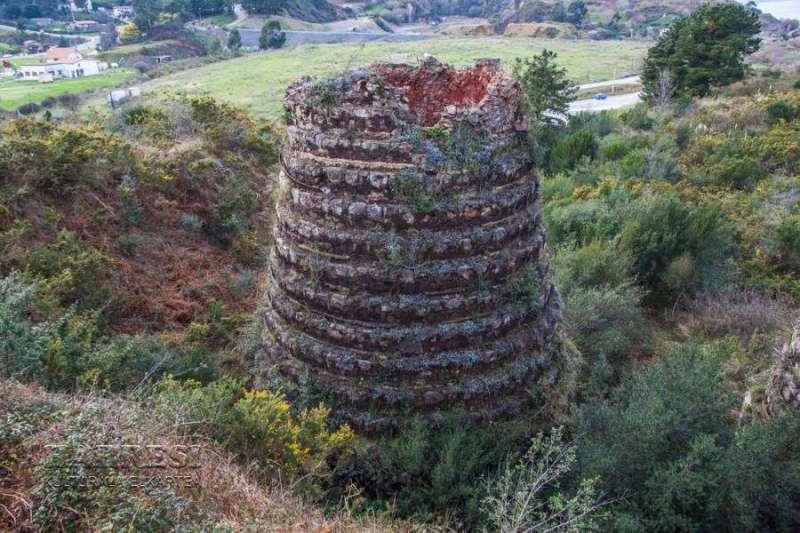 Minería Encartaciones 37 - Horno de calcinación antiguo