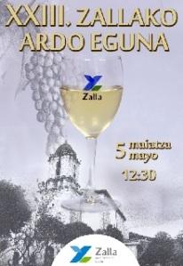 Cartel Ardo Eguna Zalla 2013