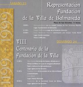 Celebración del VIII Centenario
