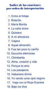 Habaneras-2013---Canciones