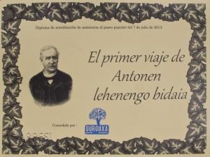 Diploma de la marcha