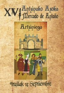 Cartel mercado antaño 2013