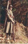 """Tomás Sáez """"Pikizu"""" como soldado francés"""