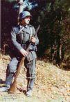 "J.T.Sáez ""Pikizu ""como soldado alemán"