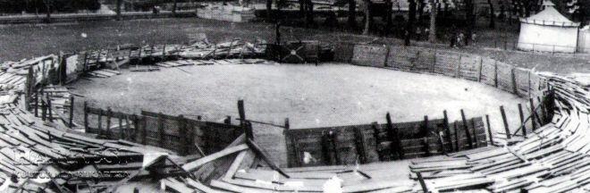 60 aniversario de la caida de la plaza de toros de Balmaseda