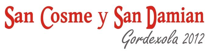 Las txosnas de San Cosme.  1997 y 2012