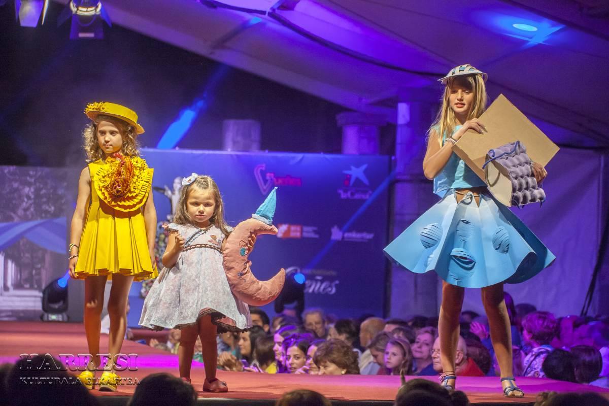 Vestidos de papel 2014. Premios infantil | Harresi Kulturala Elkartea