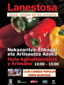 Feria Lanestosa 2014. Cartel