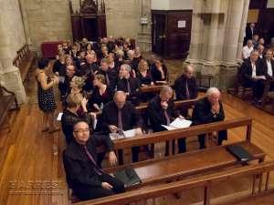 El Dolce Choir en la iglesia de San Severino