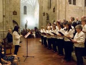 El coro Iraunkor durante su actuación