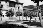 Iglesia y convento de Santa Clara a mediados del siglo XX