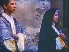 Juan Ángel Merino como San Juan junto a Maruja Celorio