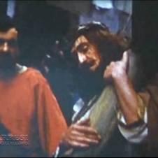 """Andoni Santamaría """"Cubera"""" con la cruz a cuestas"""