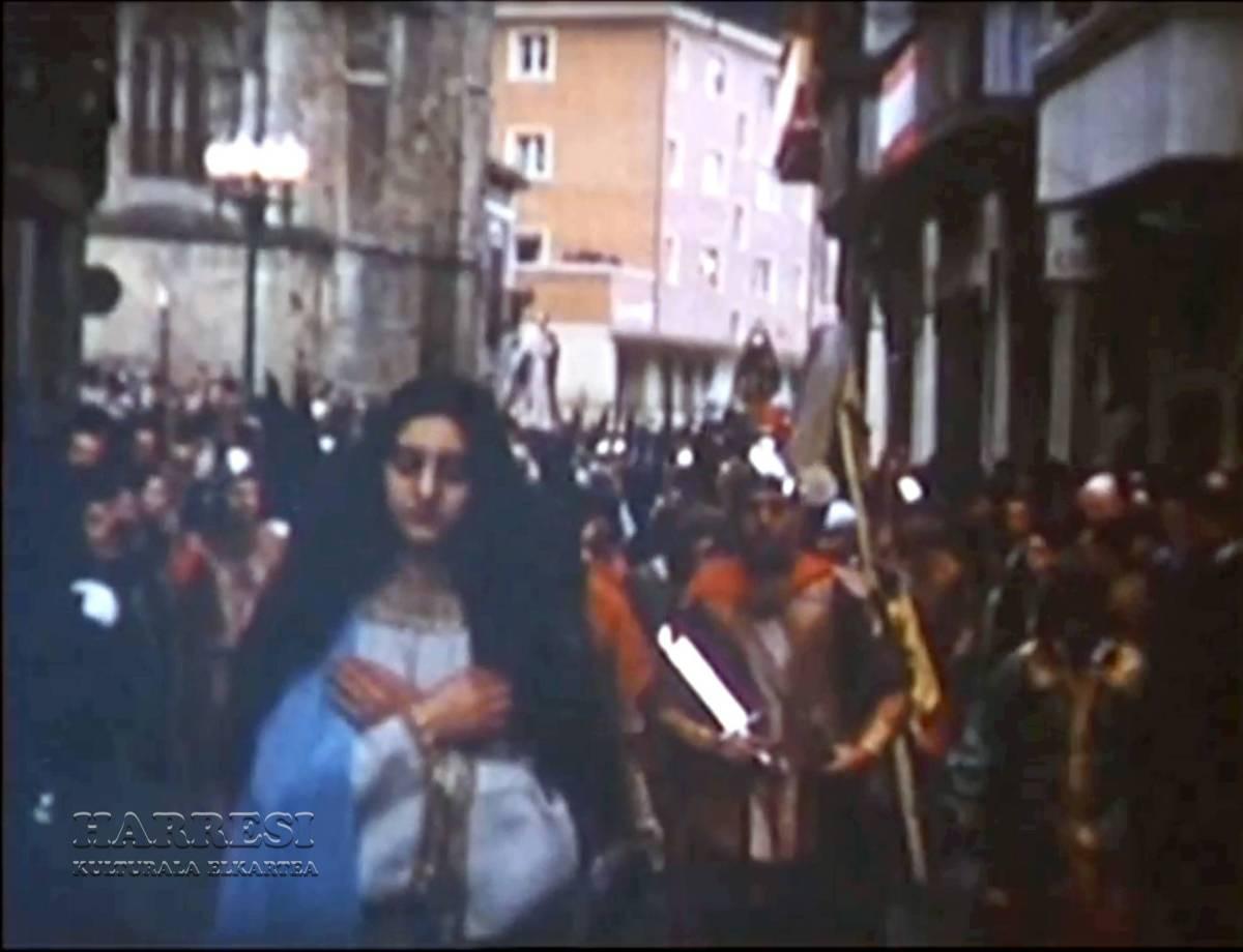 Balmaseda 1960. Vía Crucis Viviente
