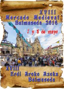 Cartel Medieval 2016